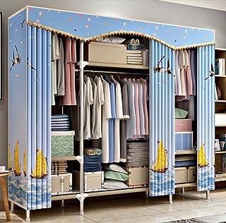 LyMei Armoire de Rangement, Organisateur de Stockage de Garde-Robe Portable Vêtements Armoire De Stockage De Stockage Armo...