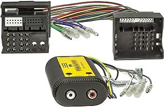 tomzz Audio 5800 142 High Low Converter 2 Kanal Verstärker Sound Upgrade kompatibel mit BMW Ford Mercedes Seat VW Modelle mit Quadlockanschluss