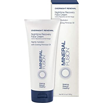 Mineral Fusion Overnight Renewal Nighttime Recovery Face Cream, 3.4 oz