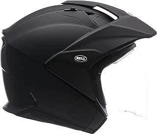Bell Mag-9 Open Face Motorcycle Helmet (Solid Matte Black, Medium)