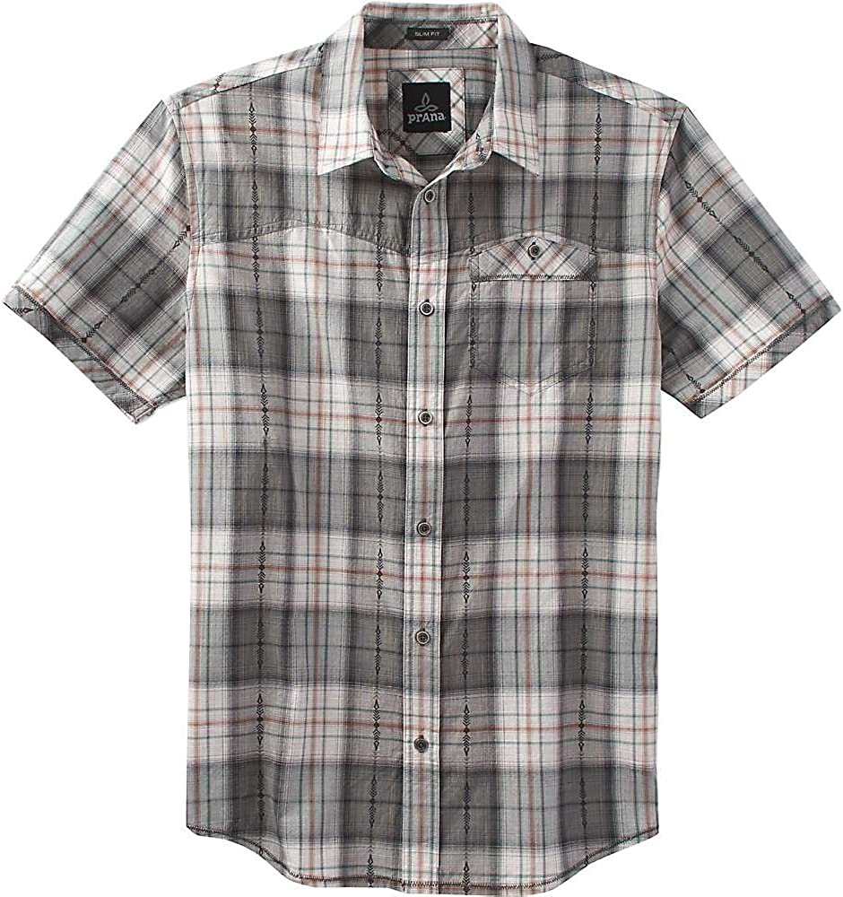 prAna Men's Gorgeous Patras Shirt Slim 2021new shipping free shipping