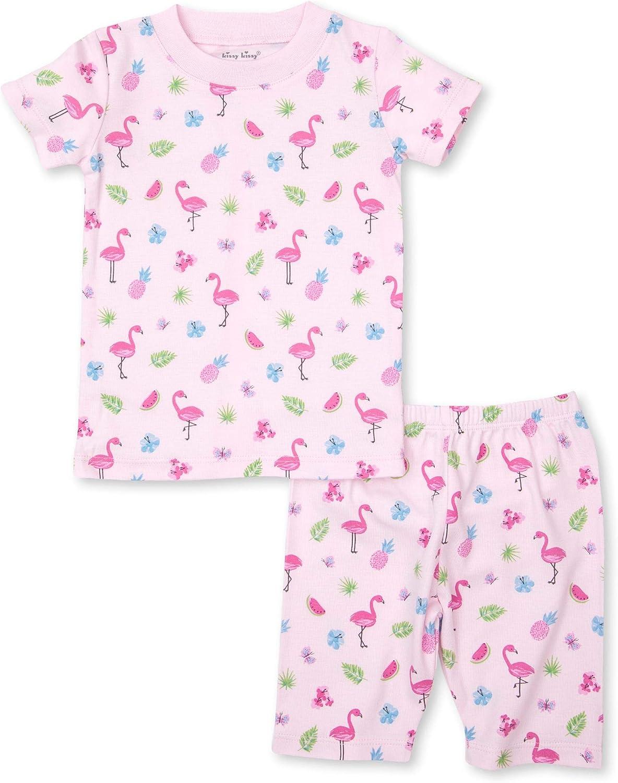 Kissy Kissy Baby-Girls Infant PJs Aloha Print Short Pajamas Set