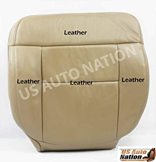 US Auto Nation Fits Ford F150 Lariat FX4 Driver Bottom Replacement Leather Seat Cover Tan