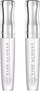 Rimmel Stay Glossy 6 Hour Lip Gloss, Seduce Me, 2 Count
