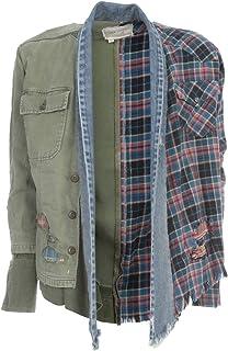 GREG LAUREN Luxury Fashion Mens SS20M128ARMY Green Jacket | Spring Summer 20