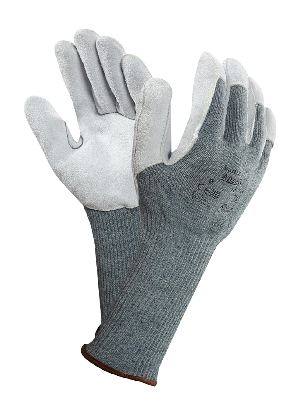 良いアルバム階下Ansell Vantage 70-766カット保護手袋、機械的保護、グリーン、サイズ11(12ペアのパック)