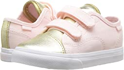 (Metallic Toe) Heavenly Pink/Gold