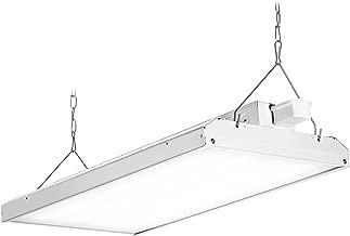 Hyperikon 1x4 Foot LED High Bay Lighting Fixture, 700 Watt (220W), Commercial Indoor Linear Light, 5000K, Motion Sensor, UL