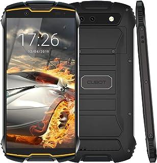 CUBOT Kingkong Mini世界最小の4Gスマートフォン, 3GBのRAM と 32GBのROM を搭載したAndroid 9.0 Nougat ロック解除された顔ID、4G デュアルSIM、コンパス+ GPS、防水ショックプルーフ