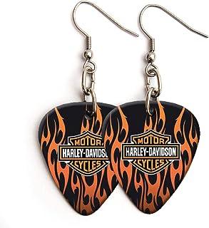Harley David // son - Pendientes de púa de guitarra