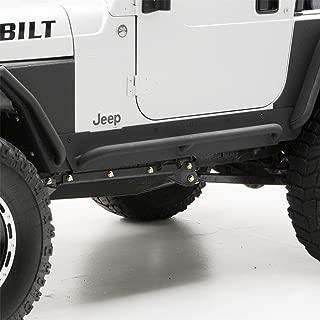 Smittybilt 76865 XRC Rock Sliders w/ Step, 76-86 CJ7 Textured Black