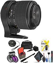 Canon Mp-E 65mm F/2.8 1-5X Macro Photo Lens for Digital Cameras 6D, 5D Mark IV, 5D Mark III, 5D Mark II, 6D Mark II, 5Dsr, 5Ds, 1Dx, 1Dx Mark II + Accessories (International Model) Pro Bundle Kit