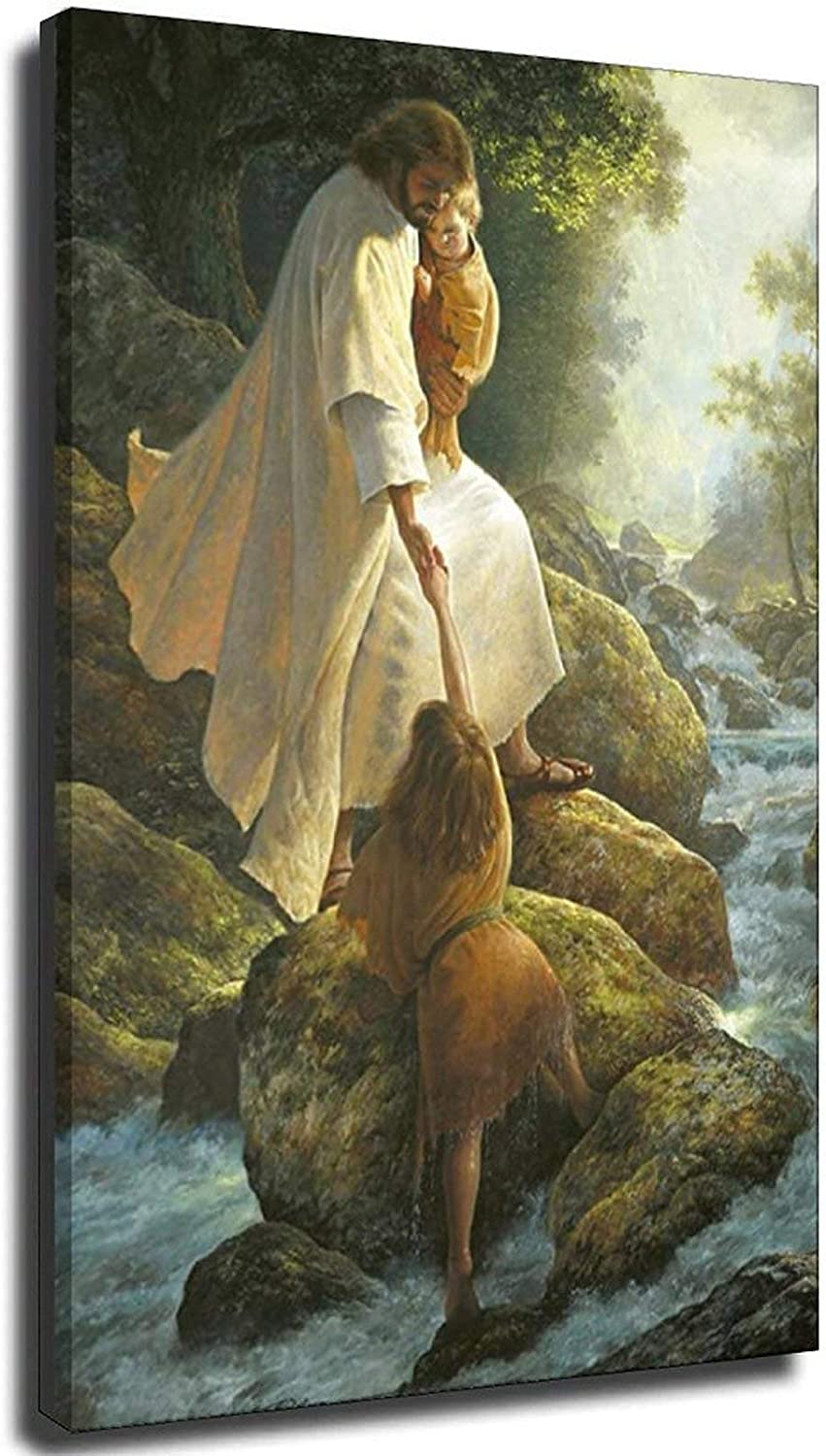 Max 64% OFF Be Not Afraid Christian Art Canvas Picture God Modular Max 49% OFF Ch Prints