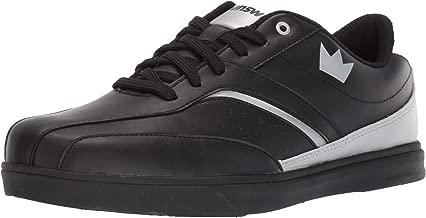 Brunswick Vapor Mens Bowling Shoe White/Black