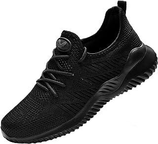 Womens Memory Foam Slip on Walking Shoes Tennis Running Sneakers (US5.5-10 B(M)