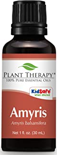 Plant Therapy Amyris Essential Oil. 100% Pure, Undiluted, Therapeutic Grade. 30 ml (1 oz).