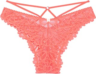 Savage X Fenty Women's Savage Not Sorry Strappy Lace Brazilian