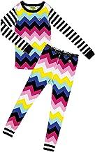 Moodie Pajama Set for Girls - Winter Pajama Top and Pants Set for Girls | Toddler-10 Yrs