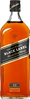 Johnnie Walker Black Label Scotch 12 Years Old Whisky 1 x 3 l