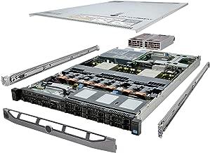 TechMikeNY PowerEdge R620 Server 2.40Ghz 12-Core 64GB 8X 400GB SSD Energy-Efficient (Renewed)