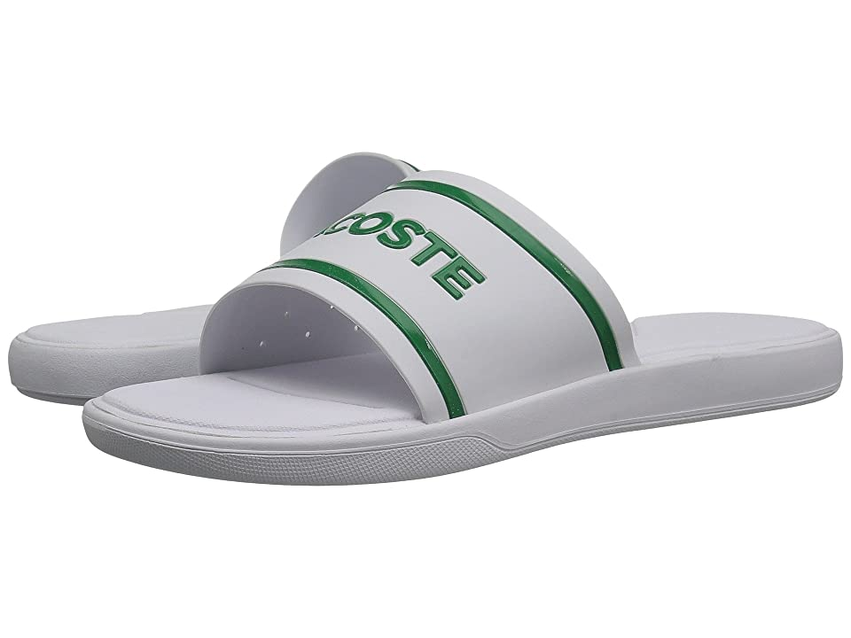 Lacoste L.30 Slide 118 2 (White/Green) Men