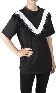 Lofbaz Women's Ruffle V Neck Casual Blouse T-Shirt