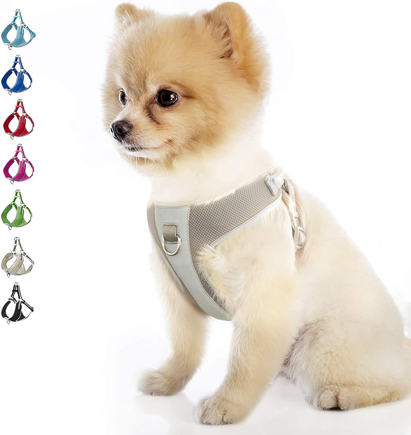 TwoEar Dog Harness Reflective Adjustable in Step Dealing full price reduction Pup Basic gift Nylon