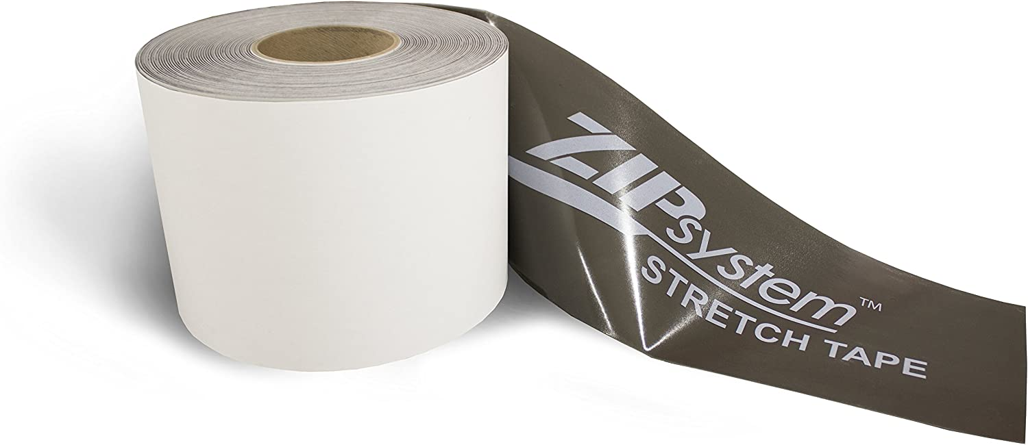 Huber ZIP System Stretch Tape | 6 inches x 20 feet | Self-Adhesive Flashing for Doors-Windows Rough Openings