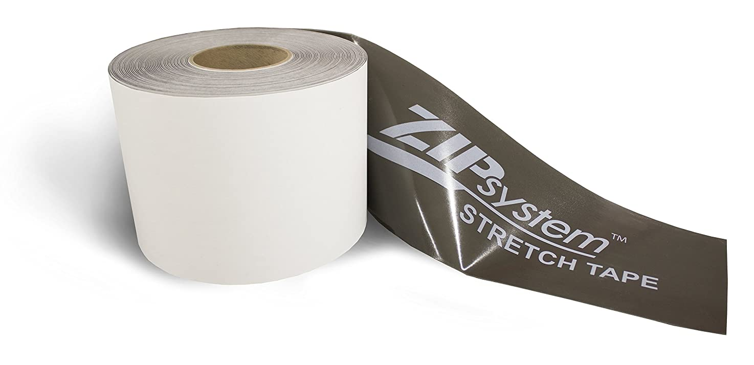 Huber ZIP System Stretch Tape | 6 inches x 20 feet | Self-Adhesive Flashing for Doors-Windows Rough Openings B075GWD83R
