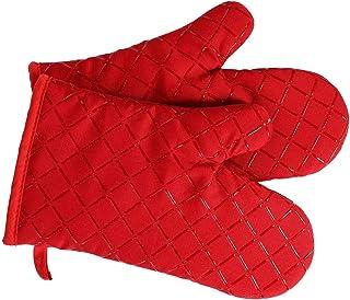 Antypoślizgowe rękawice kuchenne klasy premium (1 para) do 240 °C – silikonowe, wyjątkowo odporne na wysokie temperatury r...