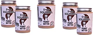 Grumpy Squirrel Peanut Butter (Chunky, 300 g) (Pack of 5 )