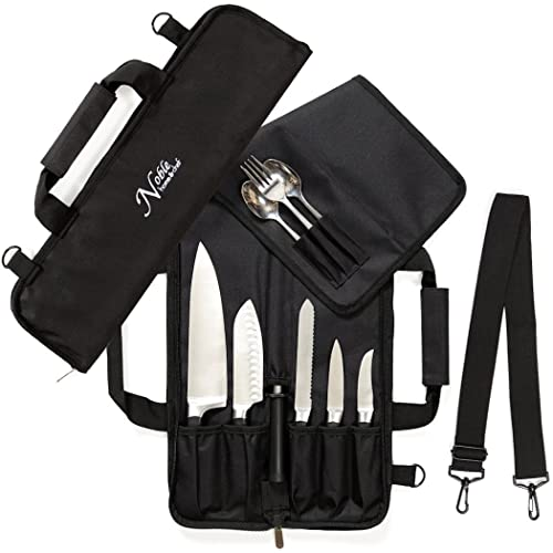 Barbecue tool bag with 3 slot Made in USA.