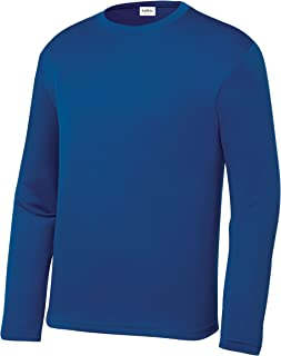 Clothe Co. Youth Long Sleeve Moisture Wicking Athletic Shirts