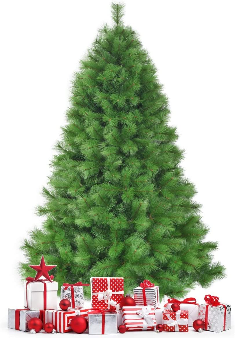 Happygrill Super beauty product restock quality top 7FT Artificial Christmas Sales of SALE items from new works Tree Green Xmas Needles Pine