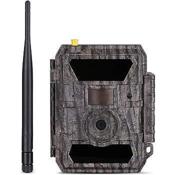 WILDGAMEPLUS® Red 3G Caza Cámaras a prueba de agua Bosque ...