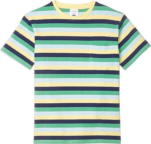 Navy/Yellow/Green