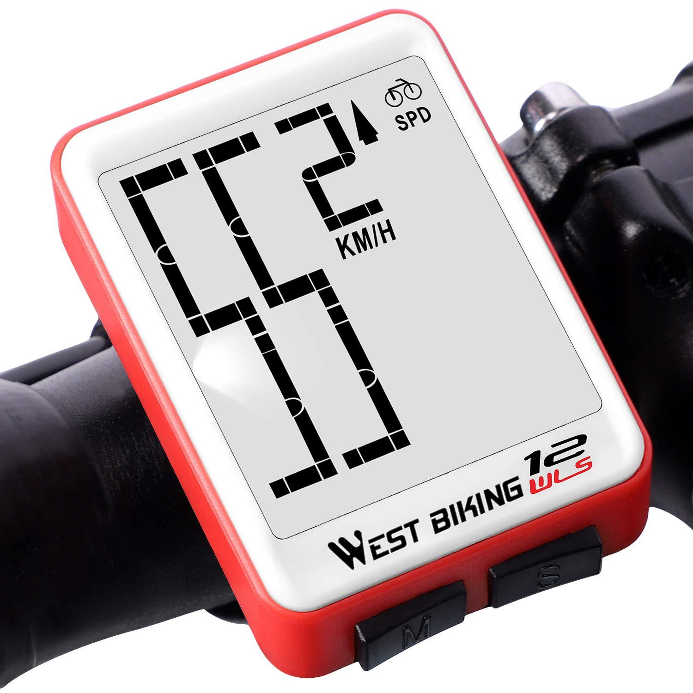LCD Bicycle Bike Computer Odometer Waterproof Speedometer Stopwatch Bicycle YA