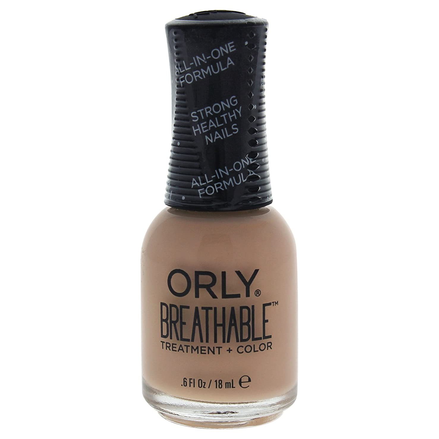 震えジャベスウィルソンお世話になったOrly Breathable Treatment + Color Nail Lacquer - Manuka Me Crazy - 0.6oz / 18ml