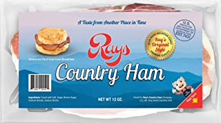 Rays Country Ham - 2 1/4 lb. / 3 - 12 oz. Packs - Blue Ridge Mountain Cured