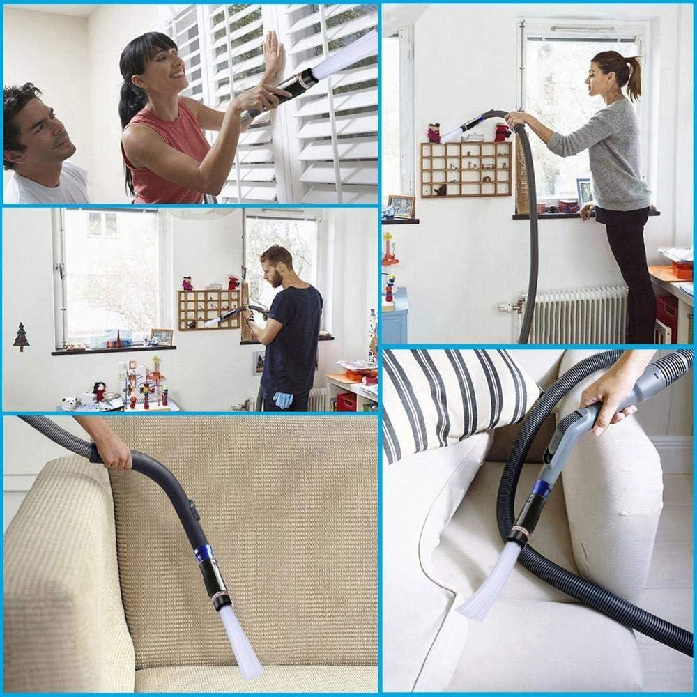 Aleka Cleaning Tool Attachment Nippon regular agency Brush Adaptor forV8 DC V10 V6 Superior Set