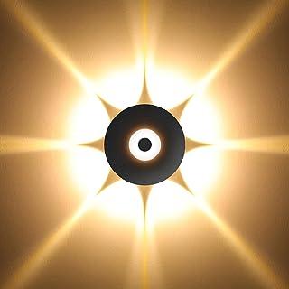 Applique up and down intérieur - BELLALICHT 5/8/12W Éclairage Mural LED en forme de pétales Étanche Luminaire déco Chambre...