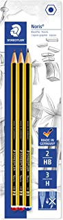 Staedtler Noris Pack of 3Graphite Pencil