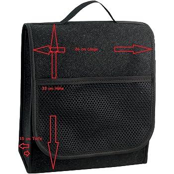 EJP-Bag Praktische Kofferraumtasche in Schwarz gro/ß f/ür jedes Fahrzeug Passend f/ür T-ROC