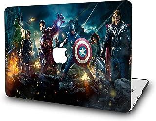 MacBook Air 13 Inch Case - L2W Laptop Accessories Hard Plastic Printed Cover for Apple Mac Air 13.3