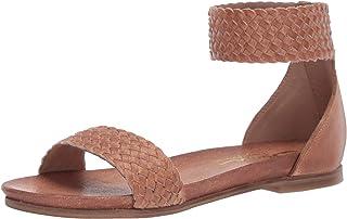 Sbicca Women's Heatley Flat Sandal, Tan, 6