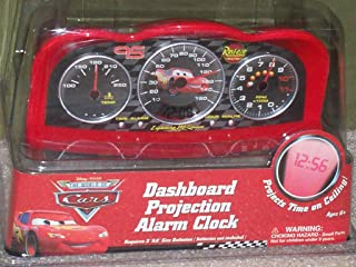 disney cars projection alarm clock