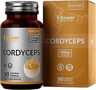 GH Hongo Cordyceps Sinensis Mushroom 90 Capsulas | Suplementos Veganos