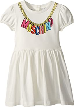 Logo Necklace Graphic Dress (Infant/Toddler)