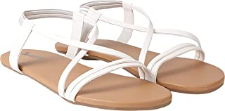 TRIJECTRY Women Fancy Flat Heel Sandal-(507)