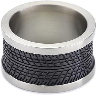 Esprit - ESRG11465A - Tire - Bague Homme - Acier inoxydable 14 gr
